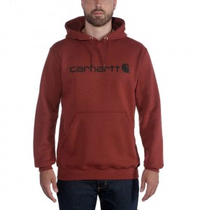 Bluza Carhartt Signature red heather