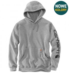 Bluza Carhartt Hooded heather grey/black