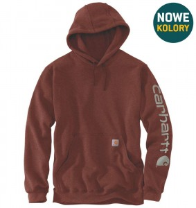 Bluza Carhartt Hooded Signature iron/ore heather